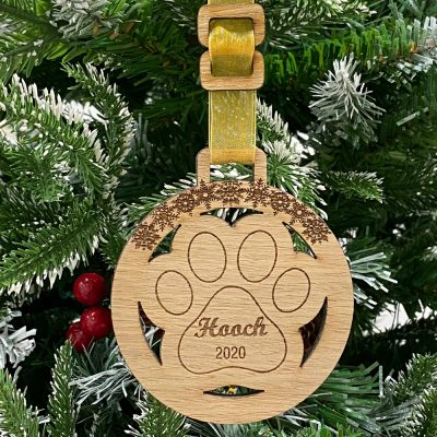 Personalised Pet Dog Bauble
