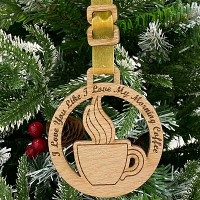 Home Decoration Coffee Bauble