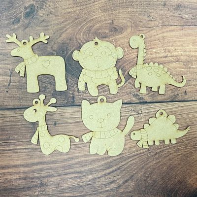Paint it Craft Animals - Pack of 6