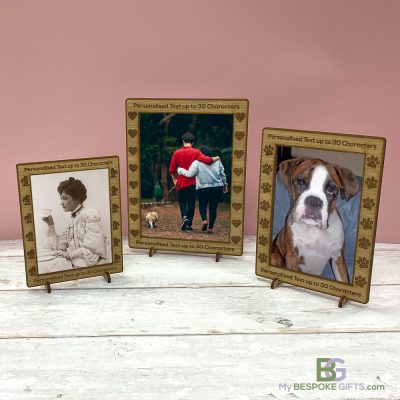 Personalised Photo Frames